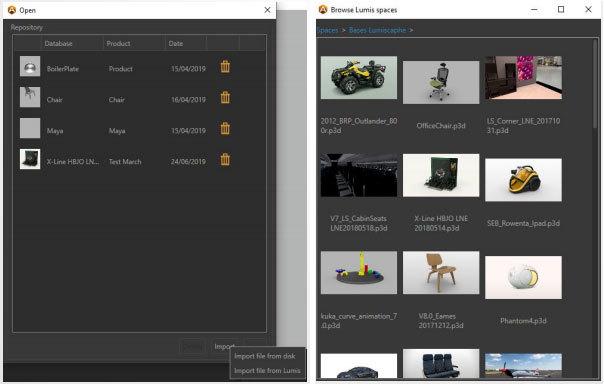 @Connection Lumis 3D / Accel VR